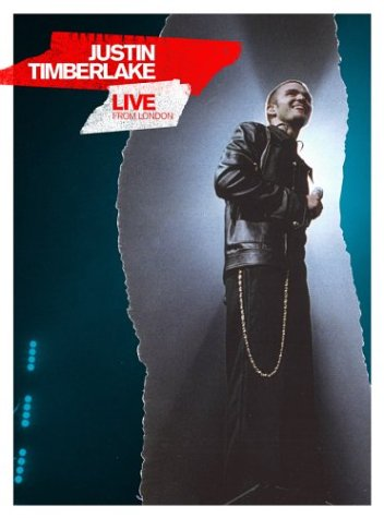 Artwork of Justin Timberlake Live from London