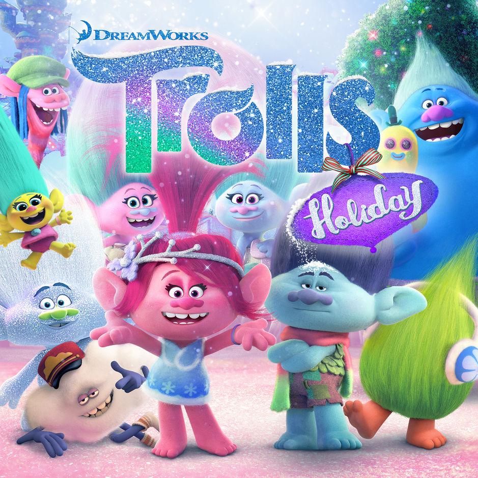 Artwork of Trolls Holiday Original Motion Picture Soundtrack