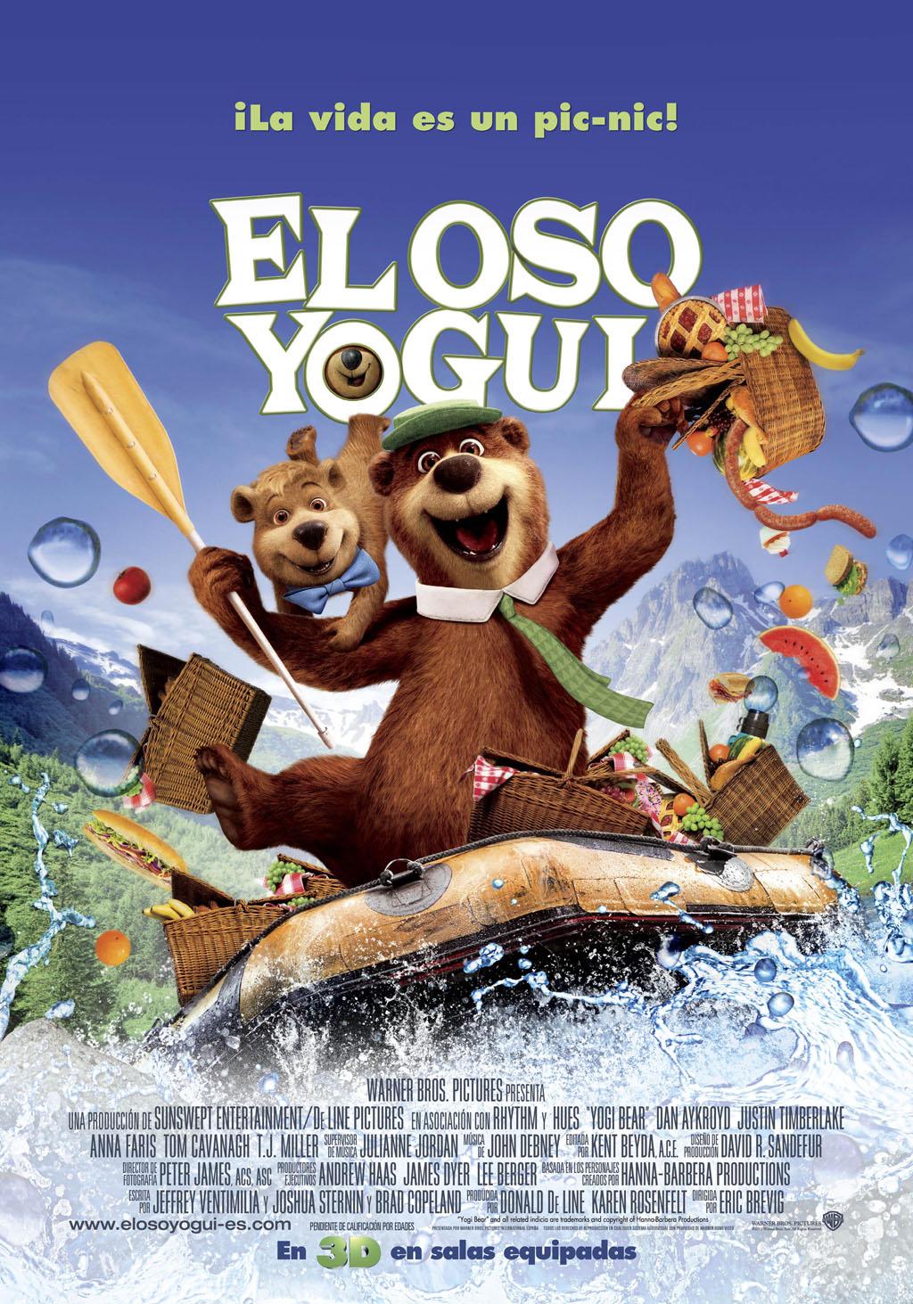 Artwork of Yogi Bear