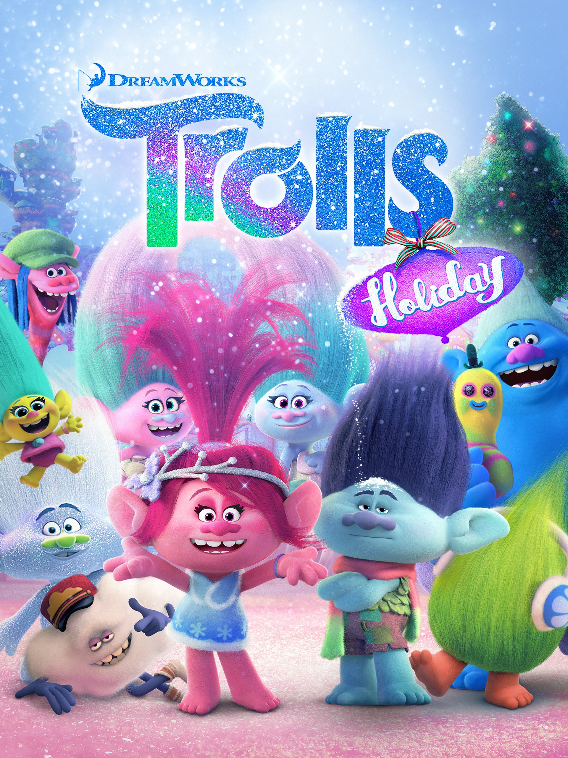 Artwork of Trolls Holiday